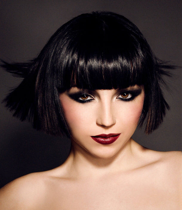 Bob Hairstyles With Bangs ispiredluv (9)