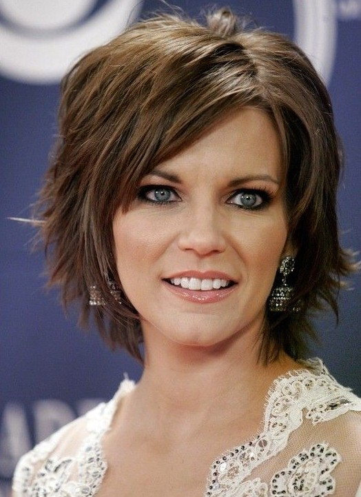 Short Hairstyles For Thick Hair inspiredluv (11)