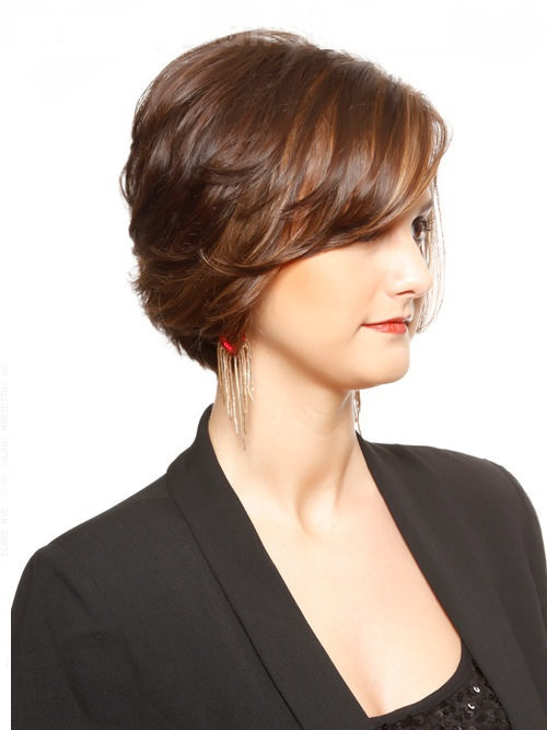 Short Hairstyles For Thick Hair inspiredluv (13)
