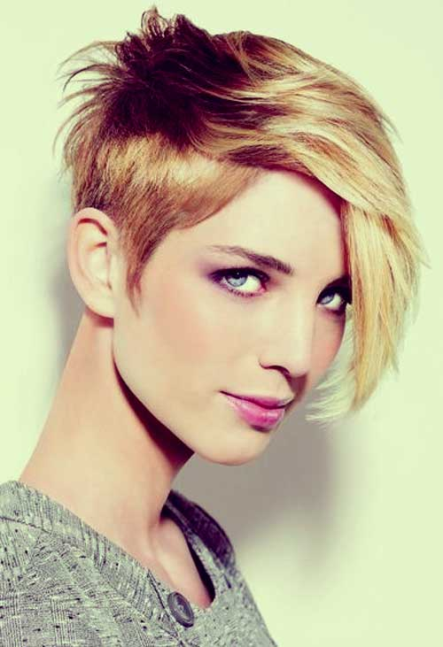Short Hairstyles For Thick Hair inspiredluv (18)