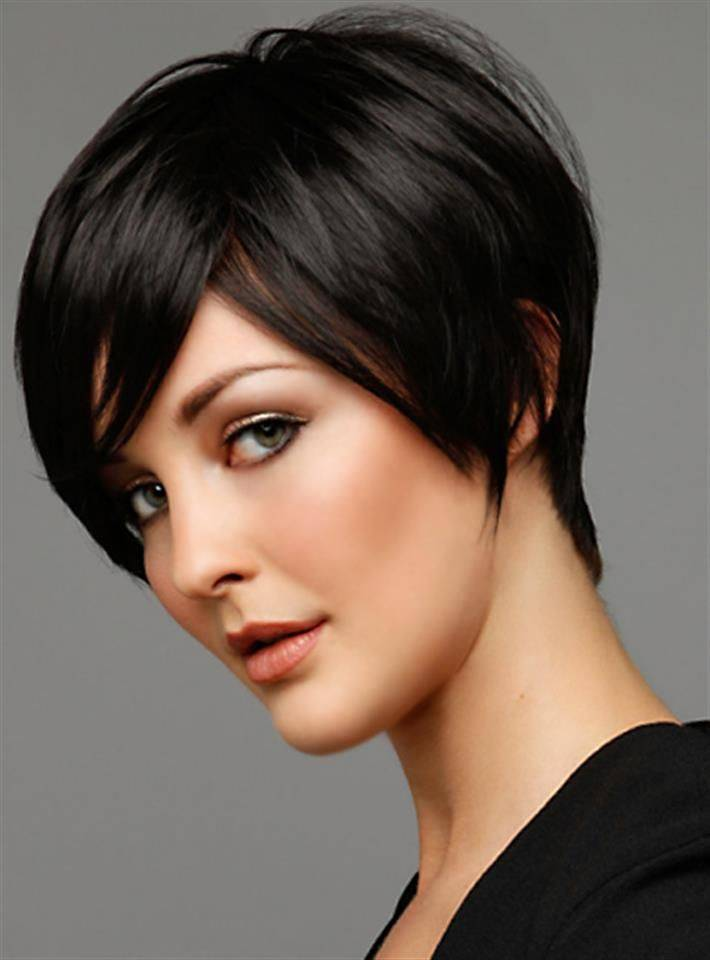 Short Hairstyles For Thick Hair inspiredluv (23)