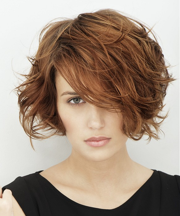 Short Hairstyles For Thick Hair inspiredluv (27)
