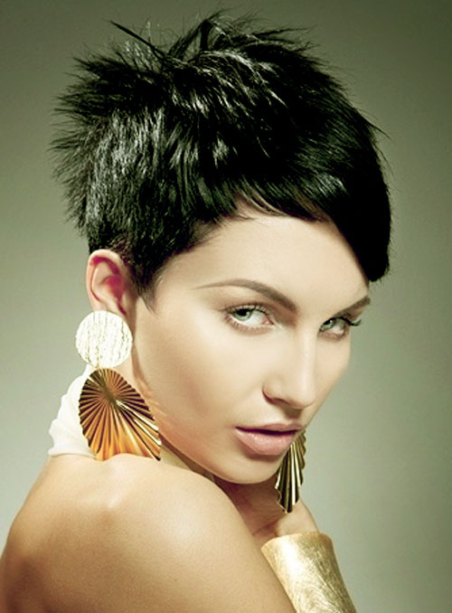 Short Hairstyles For Thick Hair inspiredluv (3)