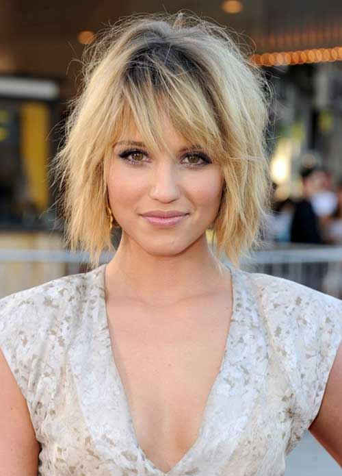 Short Hairstyles For Thick Hair inspiredluv (37)