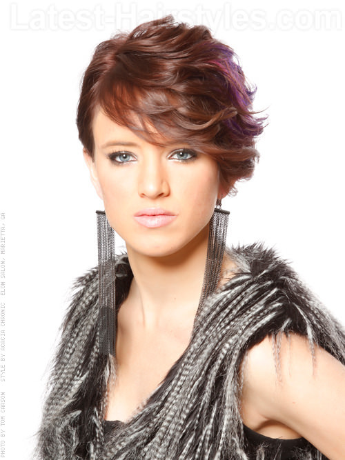 Short Hairstyles For Thick Hair inspiredluv (38)