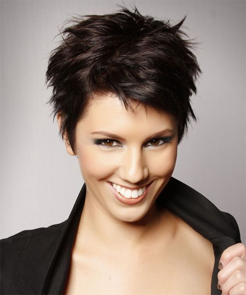 Short Hairstyles For Thick Hair inspiredluv (49)