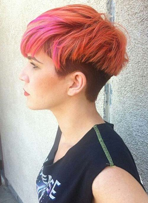 Short Hairstyles For Thick Hair inspiredluv (5)