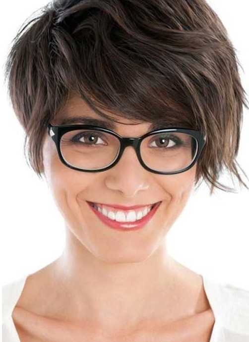 Short Hairstyles For Thick Hair inspiredluv (6)