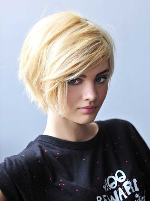 Short Hairstyles For Thick Hair inspiredluv (9)