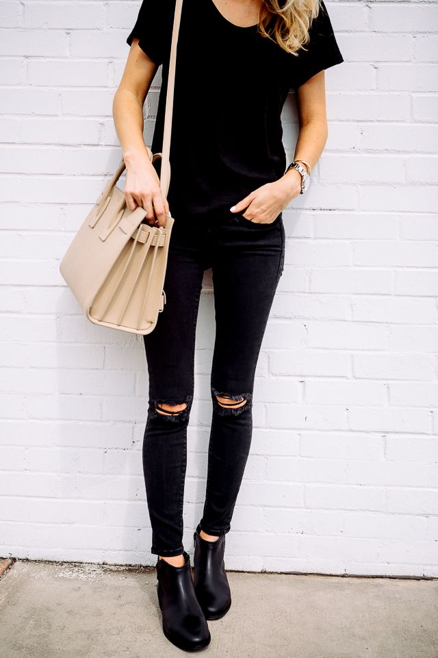 Trendy Black Jeans Outfits (15)