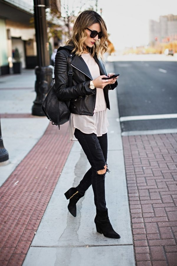 Trendy Black Jeans Outfits (9)