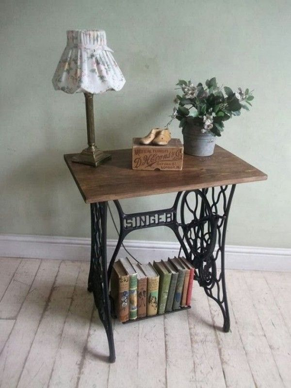 Repurposing Your Old Sewing Machine