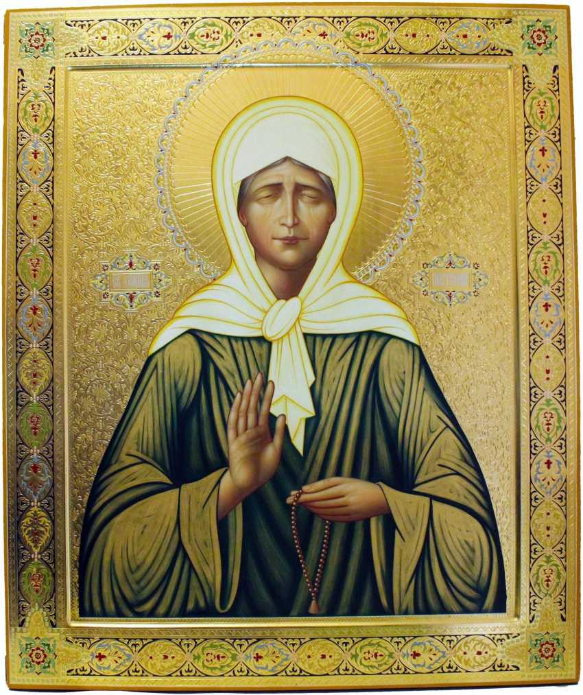 St. Matrona from Moscow
