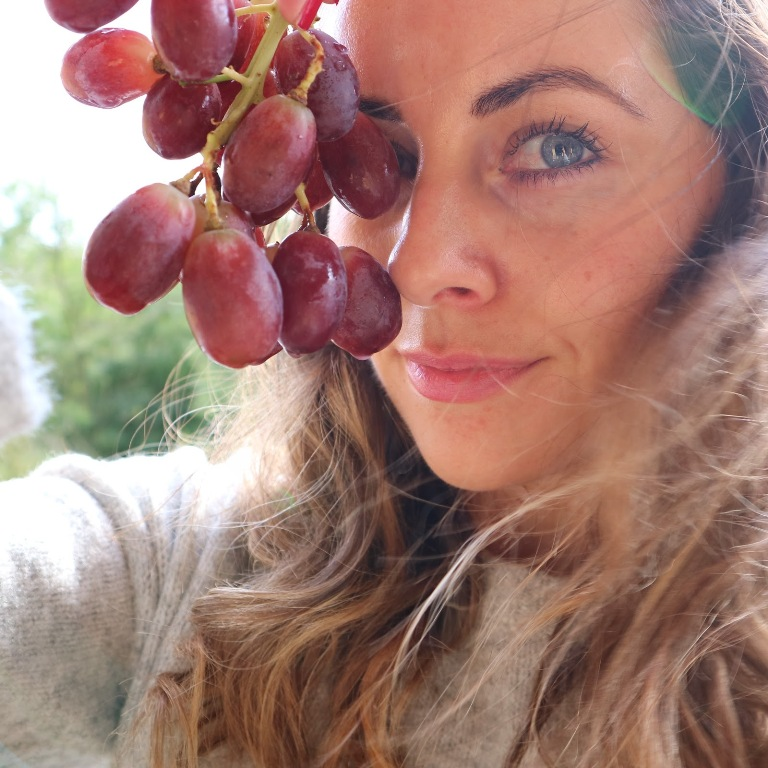 Red Grapes for Glowing Skin