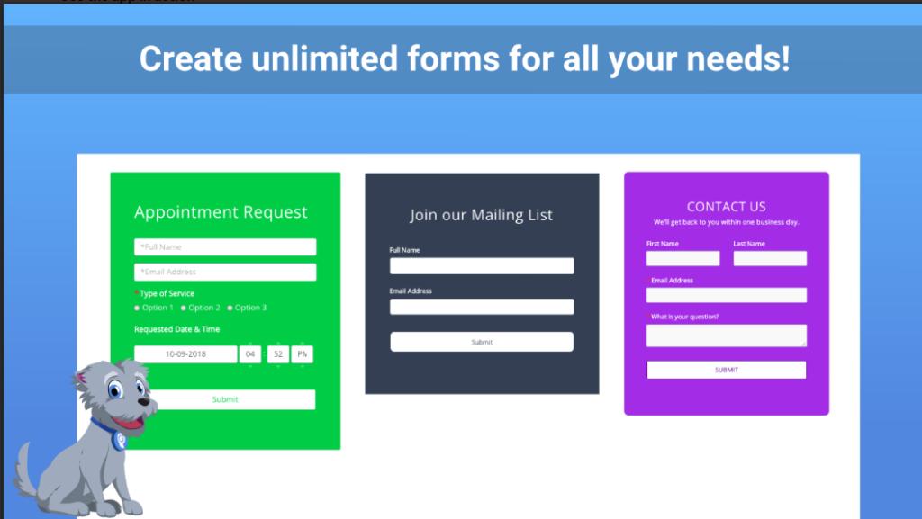 POWr Form Builder + Mailchimp Forms