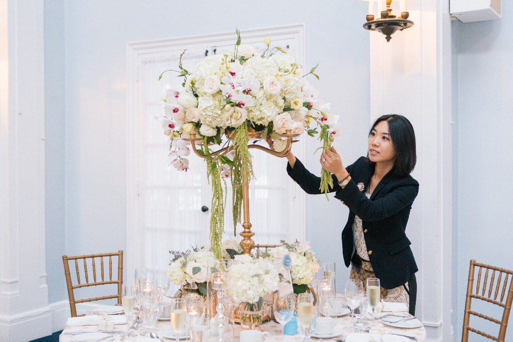 An Experienced Wedding Planner
