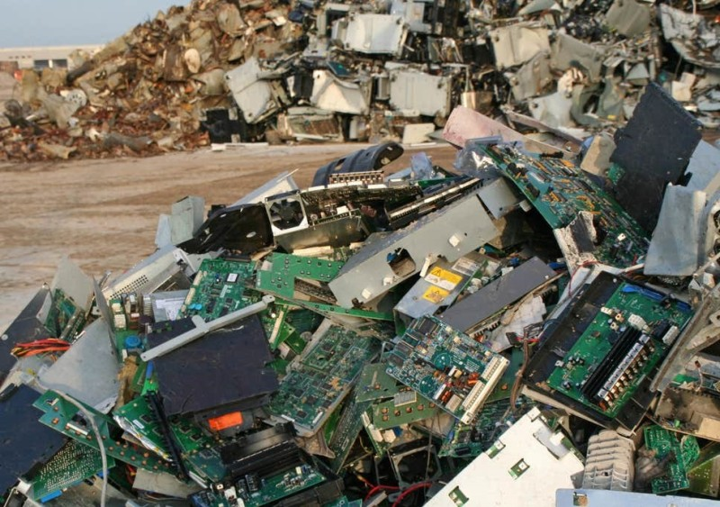 E-Waste Recycling Creates New Products