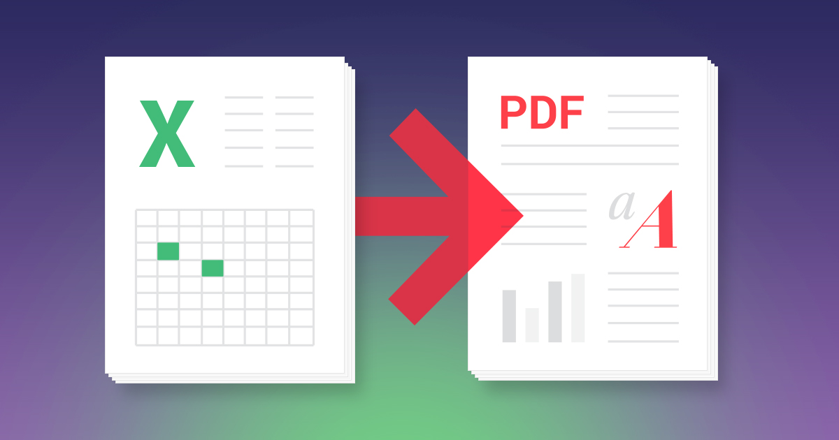 Convert Excel to PDF1