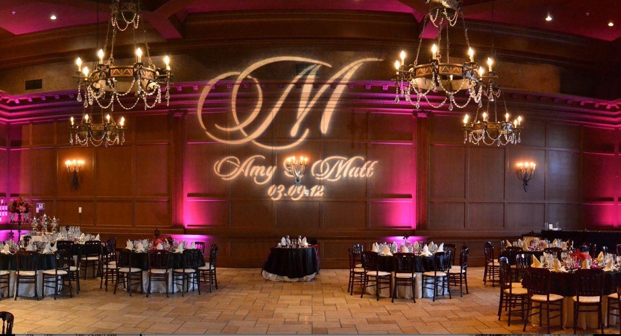 Wedding Monogram Lighting 1